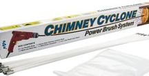 Chimney Cyclone / Power Sweeping removes more deposits than traditional sweeping and is far kinder to all flues and stainless steel liners. Chimney Cyclone sweeping rods are a quality  product, designed for sweeping tight bends in lined and twin walled chimneys. 8m, 10m and 12m.