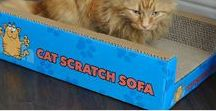 PetzTrendz® Cat Scratch Sofa Lounge / Attracts your cat and gives them somewhere to sharpen claws-Cat Sofa-Cat Scratch-Cat Scratch Sofa