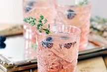 Cocktails / Summer Cocktails and Party Drinks. Iced Coffee and Tea to beat the heat! Refreshing Recipes and how to's for making Mint Juleps, Spritzer and Signature Cocktails for your outdoor patio party!