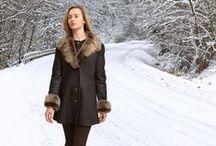 Women's Shearling Coats / Finest shearling and sheepskin coats for women