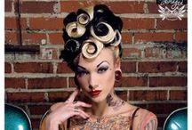 Hair| Pinup Hairdo / by Maira Spilack