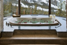 Relaxing bathrooms / by chaney ogletree
