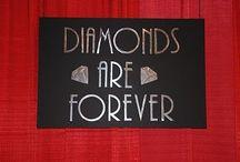 Diamonds are F.O.R.E.V.AAAA / by Christina Chernick