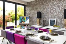 MK DESIGNED, DINING ROOMS