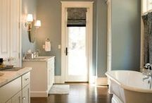 Bathroom Reno / Ideas for renovating my main bathroom as well as my master bathroom. Both will be gut jobs. / by True JerseyGirl