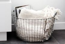 baskets and storage / places to put your smallish things
