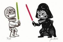 Star Wars and Other Geeky Things / May the force ensure that you live long and prosper.  / by D.F. Lewis