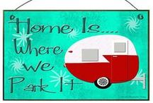 Vintage travel trailers / by Laura Huizar