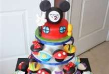 Mickey Mouse theme Birthday   / by Christine Poorman