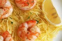 Spaghetti Squash Goodness / Anything spaghetti squashish!  / by Elysa Kuffert