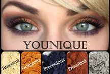 {Younique Eye Pigments} / Moodstruck Minerals Pigment Powder Luxurious eye shadows that provide key nutrition for your skin.  / by Younique by Farrah Jade