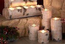 Kerzenhalter - Birke / Kerzenhalter und Birke! Eine wundervolle Kombination, finden wir!   Sei kreativ und gestalte dir deine 4 Wände ganz im skandinavischen Stil mit weißen, hochwertigen Birkenstämmen von Birkendoc   Weiße Birkenstämme erhältlich unter  https://birkendoc.de/shop/