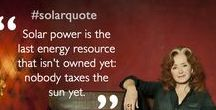 Solar Quotes / Quotes from great personalities of our time