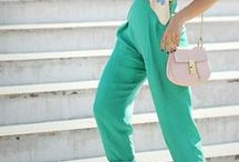 LIGHT GREEN OUTFIT