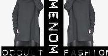 AmenOmen #blackfashion / AmenOmen to wyjątkowa kolekcja ubrań, bezpośrednio zainspirowanych modą alternatywną związaną z subkulturami metal, rock, goth, tattoo oraz occult.
