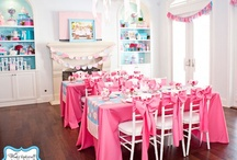 Parties - For Girls / Ideas for girl birthday parties.