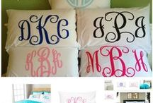 monogram / by Brooke Chamblee