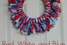 Red, White, & Blue  / by Mackenzie {Cheerios and Lattes}