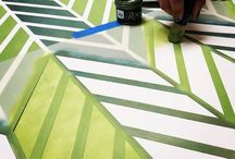 Decorative Painting Ideas / Handpainted Home Decor
