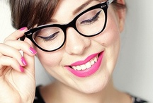 Glasses + Makeup / by Elizabeth Dehn | Beauty Bets