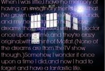 Doctor Who / I'm obsessed, I'm a Whovian. :)  / by Brittany DeWidt
