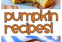 Healthy Pumpkin Recipes / by Chocolate-Covered Katie