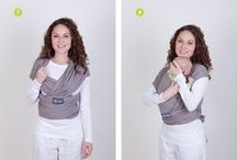 Safe Babywearing  / Ideas, Fashions, and Brands for safe babywearing
