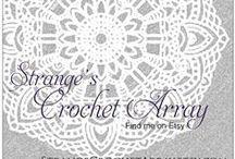 Strange Crochet Array Items