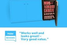 Haier Reviews / Find out what owners are saying about Haier appliances and electronics.  / by Haier