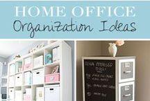 Organization - Office / Tips, tricks an DIY ideas to organize the office
