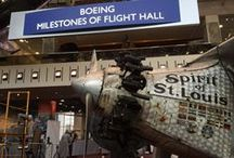 "Transforming the Boeing #MilestonesofFlight Hall /  Our central exhibition in DC has greeted visitors for decades and looked much the same since we opened in 1976. Thanks to a generous donation from Boeing, that will change in time for our 40th anniversary. The renovated ""Boeing Milestones of Flight Hall"" will enable us to tell the stories of how aviation and spaceflight have changed the world in new ways, but first, the space itself needs to transform. Check back for updates as renovations continue while the exhibition remains open."