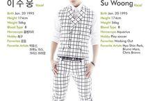Suwoong 수웅 [Boys Republic] / Lee Suwoong 이수웅    Boys Republic    1995    174cm    Vocal    Maknae >>> BIAS