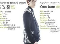 Onejunn 원준 [Boys Republic] / One Junn 원준    Jo Wonjun 조원준    1988    179cm    Main Vocal    Leader