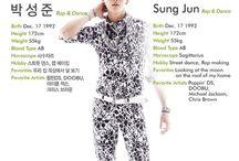 Sungjun 성준 [Boys Republic] / Park Sung Jun 박성준    Boys Republic    1993    172cm    Main Dancer    Lead Rapper