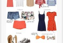 What to pack / What to pack for vacation