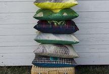 Coussins / Matinée poudrée #cushions #coussins