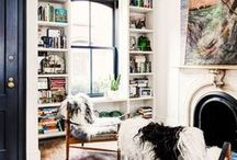 Rooms We Love / We are constantly seeking inspiration when it comes to home decor, pattern and interior design. Here, a glimpse of some of what we love.