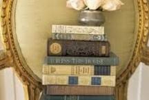 Vintage Books & Book Decor