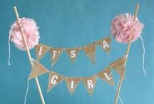 Baby Shower Ideas / Tutorials, ideas and inspiration for baby shower games, food, drinks, gifts and more!