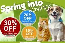 Coupons, Promotions & Deals / by EntirelyPets.com