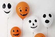 Halloween Ideas / Ideas and inspiration for amazing Halloween decorations, treats, favors, food, candy-free options and much more!