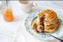 Breakfast / Eggs, Egg Bakes & Scrambles, Pancakes, French Toast, and other borderline-dessert breakfast sweets.  / by Swoop