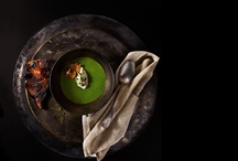 Lifestyle & Dark Tone Food Photography / for inspiration
