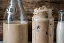 Iced Coffee Drinks / Cold coffee drinks to enjoy on a hot day.