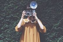 Analog Cameras / The most beautiful of inventions combining art and engineering, LOVE classic film cameras / by Wocolate