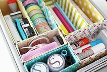 Organization / by Sweet Tart Beauty