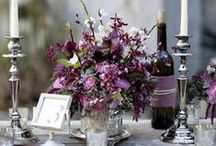 Radiant Orchid - 2014 Pantone Color Of The Year / Pantone's 2014 color of the year wedding and party inspiration.