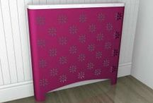 Pink Radiator Covers / A hot colour for 2014 with Orchid Pink the pantone colour of the year!