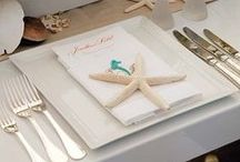 Beach Wedding Ideas / Nautical and beach themed wedding ideas and inspiration. Invites, favors, decor and more!