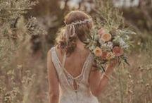 Boho Wedding Inspiration / Boho and outdoorsy wedding inspiration and ideas. Favors, decor, clothing ideas and more!
